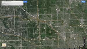 Google Maps Michigan by Southfield Michigan Map