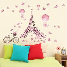 popular fairy mural buy cheap fairy mural lots from china fairy tower butterfly flower fairy mural wall sticker for bedroom living room china mainland