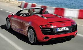 spyder cost audi r8 reviews audi r8 price photos and specs car and driver