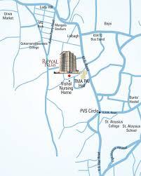 Royals Stadium Map Land Royal Palm In Kodailbail Mangalore Price Location Map