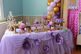 Purple Decorations 31 Baby Shower Candy Table Decoration Ideas Table Decorating Ideas