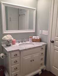 White Bathroom Vanity With Carrera Marble Top by 25 Best White Vanity Bathroom Ideas On Pinterest White Bathroom