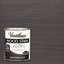 varathane 1 qt 3x weathered gray premium stain case 2