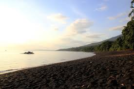 18 best black sand beaches in the world trekbible