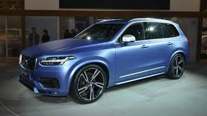 matte teal car volvo u0027s xc90 r design revealed in matte paint chasing cars