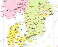 map of europe scandinavia scandinavia eurail pass rail plus australia