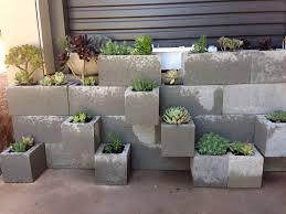 Concrete Block Garden Wall by Besser Block Succulent Garden Home Ideas Pinterest Besser
