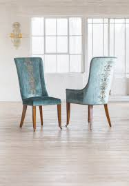 Teal Dining Room Our Kingsley Dining Chairs Covered In Como Silk Velvet Teal And