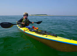 kayaking gold on cape cod bay wind against current