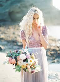 non white wedding dresses non white wedding gowns to drool ruffled