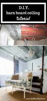 How To Install Laminate Flooring On Ceiling Oh What A Feeling We Got A Barn Board Wooden Ceiling The