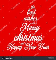 best wishes merry happy new stock vector 748689871
