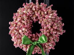 candy wreath inspire bohemia wreaths food and candy