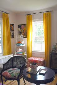 yellow livingroom unique curtains yellow curtains etsy inside mustard yellow