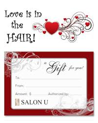 gift card specials specials salon u