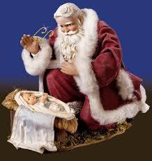 santa and baby jesus santa visits the baby jesus eavesdropping with johnny
