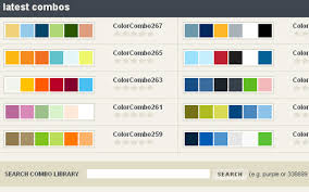 good colour schemes color palette for home web color schemes best website color