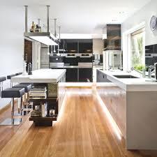 Silver Laminate Flooring Interior Minimalist Design Ideas Using Brown Wooden Stacking