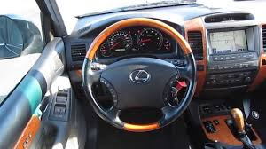 lexus gx470 years 2007 lexus gx470 black stock b2368 interior youtube