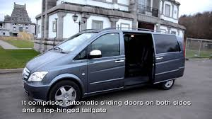 luxury chauffeur 9 seater van mercedes benz vito youtube
