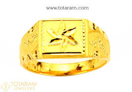 gold ring for men 22k gold ring for men 235 gr4004 in 4 600 grams