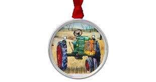 tractor ornaments keepsake ornaments zazzle