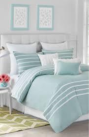 Beach Themed Daybed Bedding Seaside Aqua Capri Stripe Bedding Collection Diy Home Decor