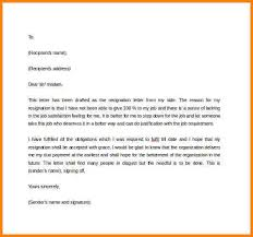 sending resignation letter steps best photos of template of