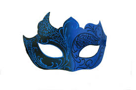 blue masquerade masks masquerade mask for men and women maskers