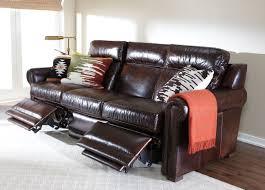 Ethan Allen Recliner Sofas Johnston Roll Arm Leather Incliner Sofa Sofas Loveseats