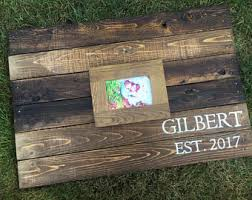 Pallet Wedding Decor Recycled Pallet Etsy