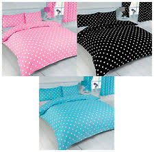 Blue Spot Duvet Cover Spotted Bedding Sets And Duvet Covers Ebay