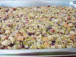 bread dressing recipes for thanksgiving mushroom sausage fruit and nut holiday dressing atelier christine