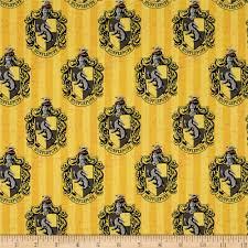 harry potter digital hufflepuff multi discount designer fabric