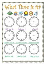 english worksheets the time worksheets page 34