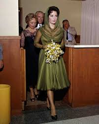 Unconventional Bridesmaid Dresses Celebrity Brides Who Wore Unconventional Colors On Their Wedding