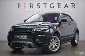 evoque land rover 2017 land rover range rover evoque cabriolet roadster for sale