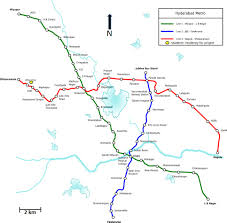 Hyderabad Map Indian Traffic U2013 Hyderabad Metro Railway Project And Construction