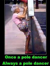 Pole Dancing Memes - once a pole dancer png