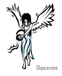 aquarius tattoos black tattoos