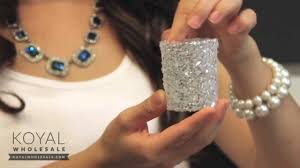 Home Interiors Votive Cups Glitter Votive Candleholders For Wedding Centerpieces Youtube