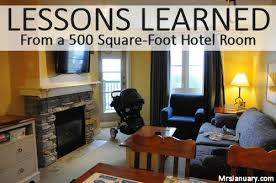 what does 500 sq feet look like lessons learned from a 500 square foot hotel room