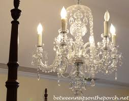 Bedroom Chandeliers Resin Candle Covers And Silk Wrapped Bulbs For The Bedroom Chandelier