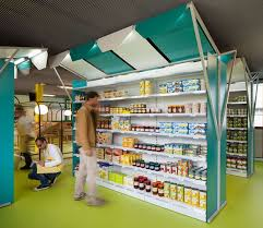 Small Shop Decoration Ideas Cartoonish Grocery Shops Store Interiors Shop Ideas And Interiors