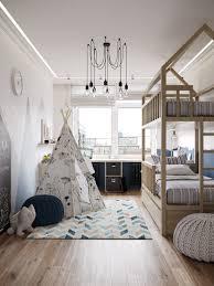 Rustic White Laminate Flooring Bedroom Remarkable Beige Fabric Sewn Modern Curtain White Sponge