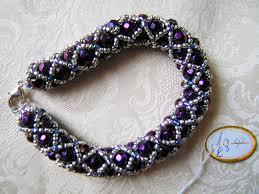 bracelet beaded images Purple beaded bracelet bead shop leeds png