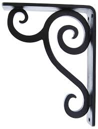 home tips metal corbels wrought iron fireplace mantel