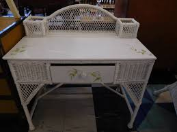 White Wicker Desk by Welcome To Ashevilleusedfurniture Com Web Home Of Nothing New