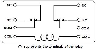 dpdt relay wiring diagram