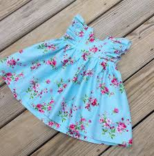 toddler thanksgiving clothes girls blue floral dress girls thanksgiving blue